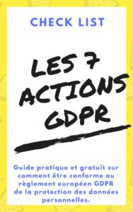 Check list gdpr / grpd